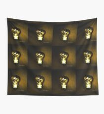 The Brightest Bulb in the Box Wall Tapestry