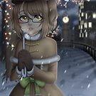 KiwisCorner Mascot - Christmas Illustration 2017 by KiwisCornerArt