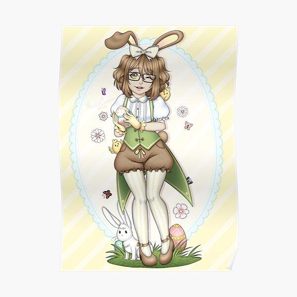 KiwisCorner Mascot - Easter Illustration 2018 Poster