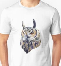 owl and the crowned mouse Unisex T-Shirt