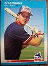 398 - Greg Walker by Foob's Baseball Cards
