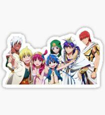 Magi Characters Sticker