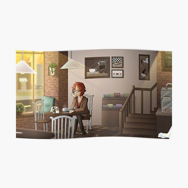 Fuwa Fuwa Dreamers - Cafe Poster
