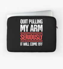 Funny Gift For Amputated Arm Amputee Present Laptop Sleeve