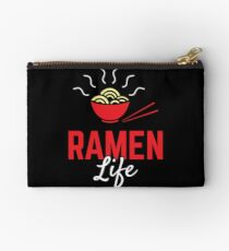 Ramen Life College Student Tasty Anime Noodle Bowl Studio Pouch