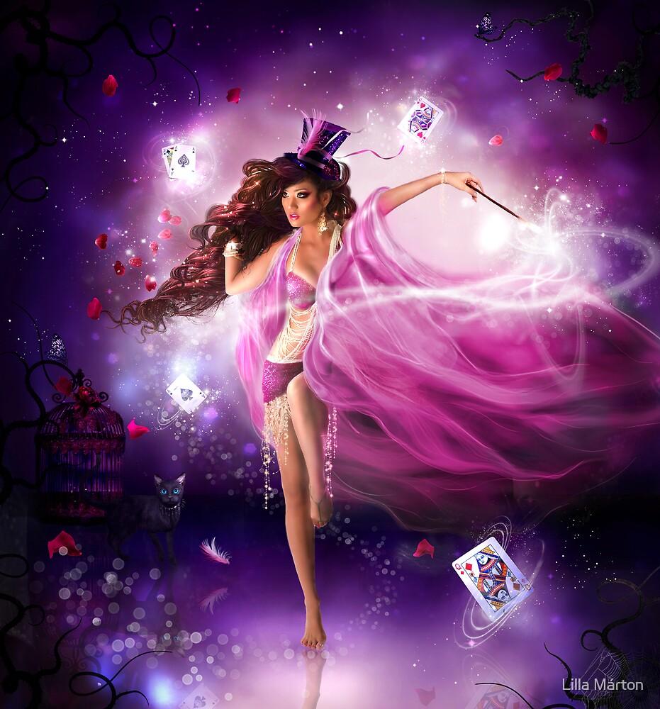 The magician by Lilla Márton