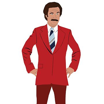 Anchorman - Ron Burgundy by foxesmate4life