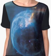 Beautiful Space Nebula Universe Chiffon Top