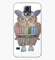 Cool Owl Case/Skin for Samsung Galaxy