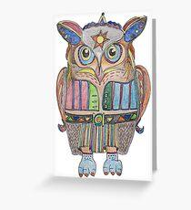 Cool Owl Greeting Card
