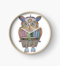 Cool Owl Clock