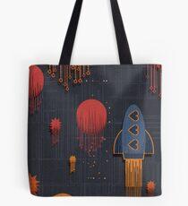 space pattern Tote Bag