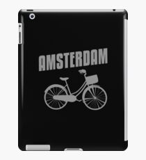 Amsterdam Bicycle Cycling Netherlands Holland Gift iPad Case/Skin