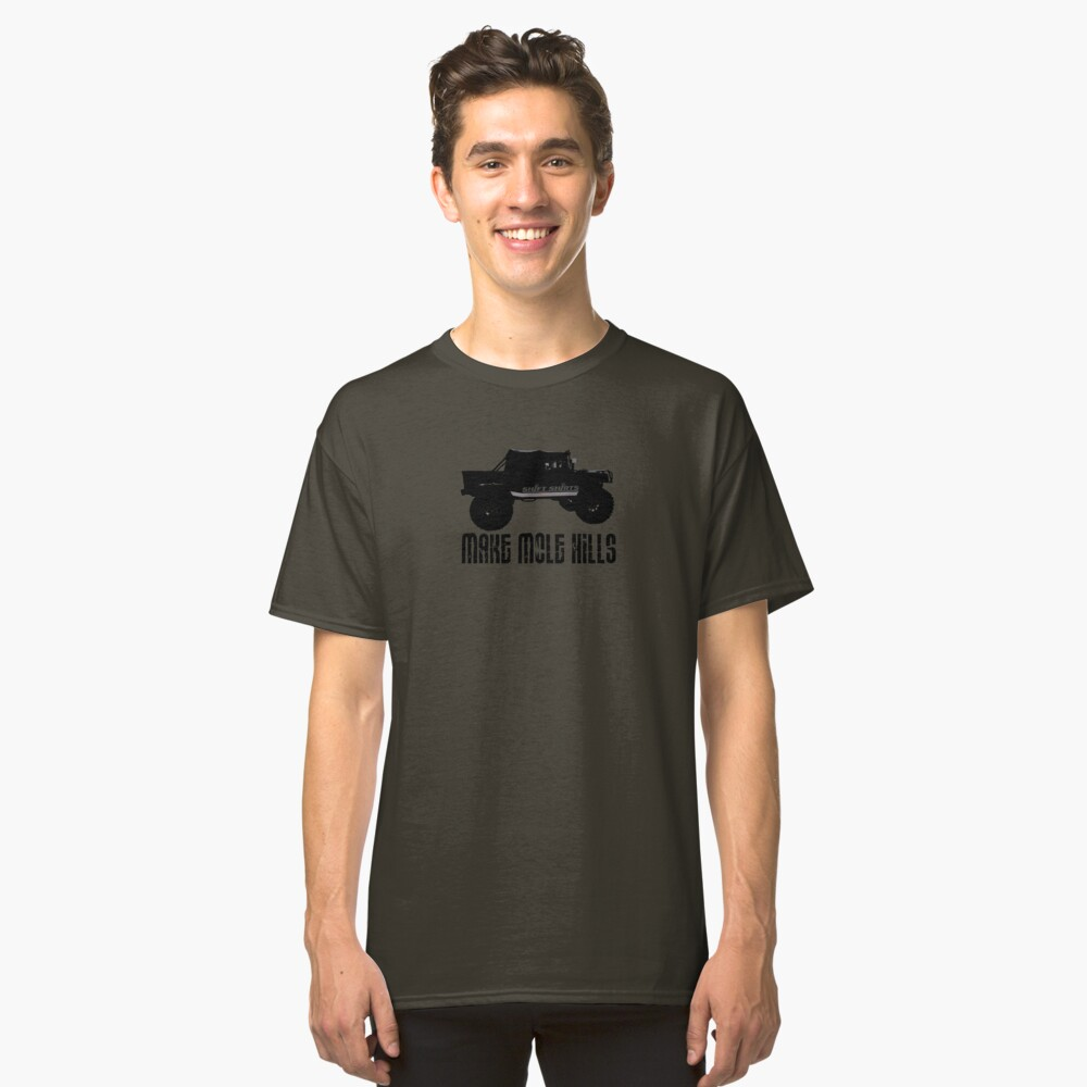 Shift Shirts Built For Battle - H1 Inspired Classic T-Shirt Front
