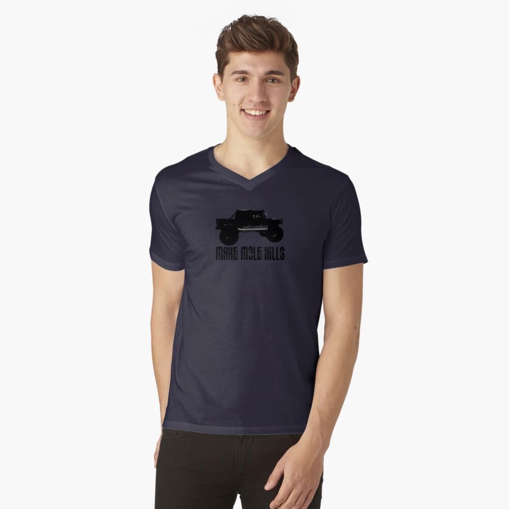 Shift Shirts Built For Battle - H1 Inspired V-Neck T-Shirt