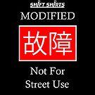Shift Shirts Koshou - Japanese Racer Inspired (JDM) Unisex by ShiftShirts