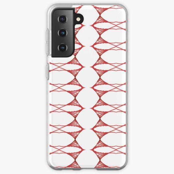 Ornament, ornamentation, form, shape, mold, uniform, format, decor Samsung Galaxy Soft Case