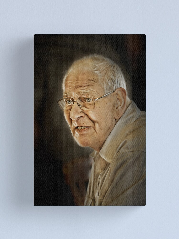Alternate view of Vincent. A candid moment. Canvas Print