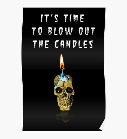 Horror: It's time to blow out the candle Poster