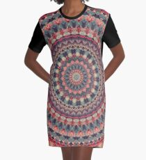 Mandala 126 Graphic T-Shirt Dress