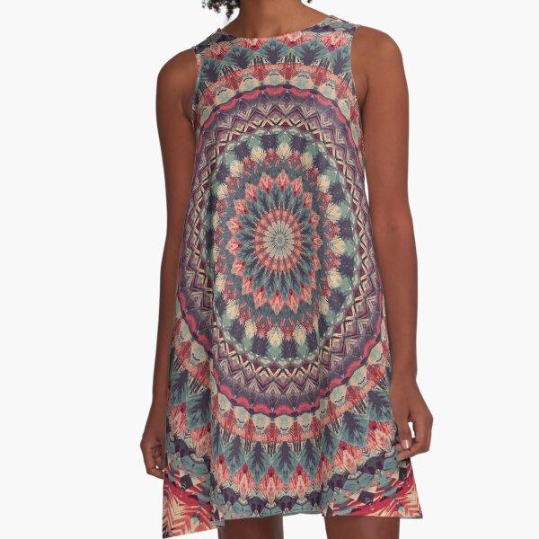 Mandala 126 A-Line Dress