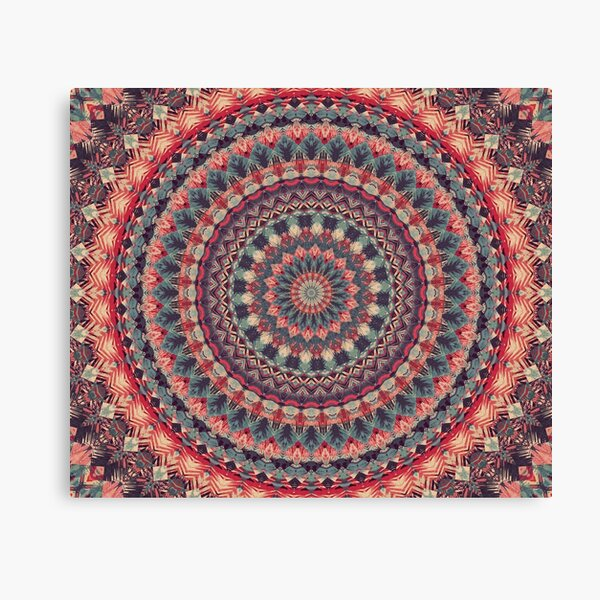 Mandala 126 Canvas Print