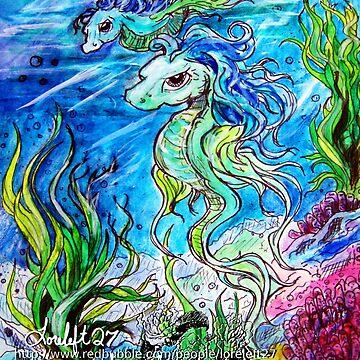lightstar and seashell by LoreLeft27