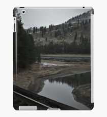 onion creek from the tracks iPad Case/Skin