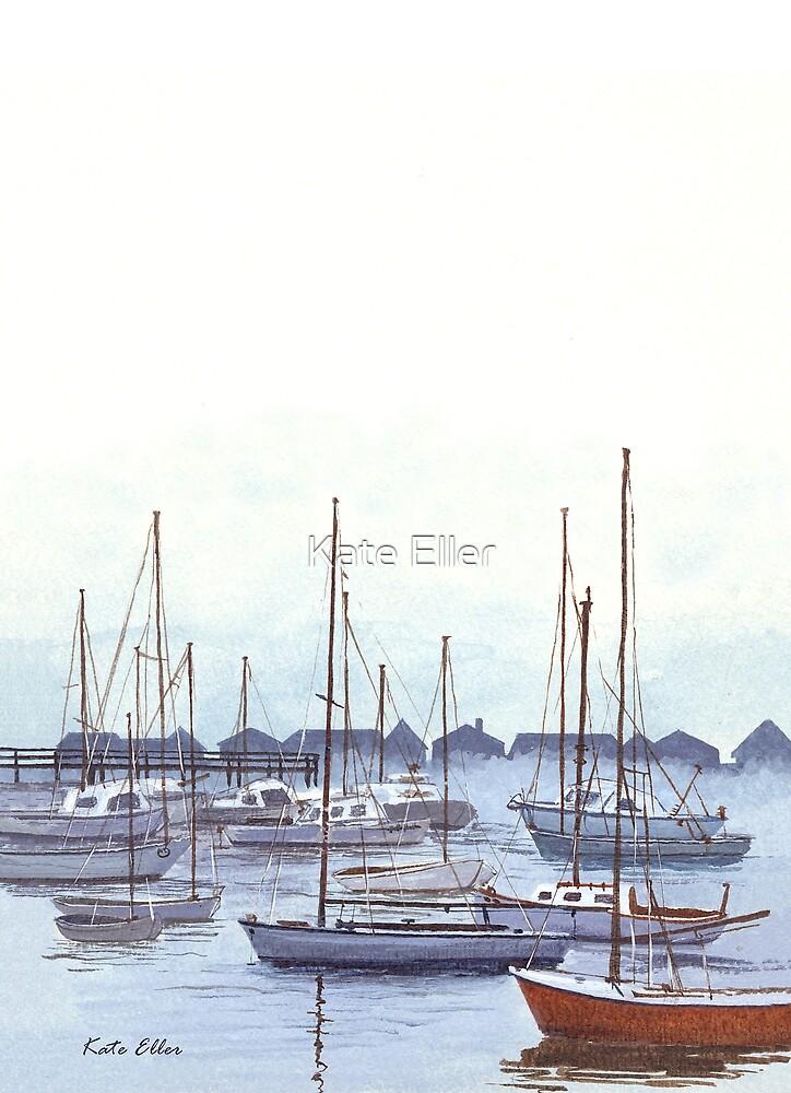 New England Marina by Kate Eller