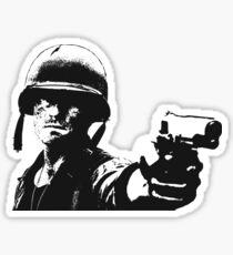 WWII Marine Sticker