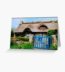 Farm Cottage in Britanny Carte de vœux