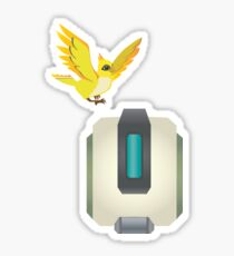Minimal Bastion Sticker