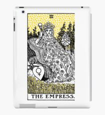 Modern Tarot Design - 3 The Empress iPad Case/Skin