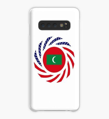 Maldivan American Multinational Patriot Flag Series Case/Skin for Samsung Galaxy