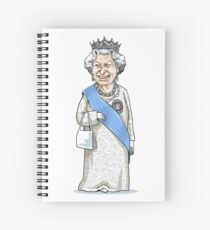 Queen Elizabeth II Spiral Notebook