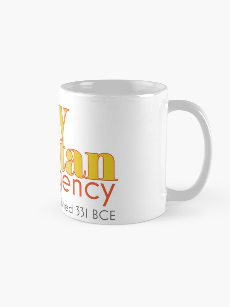 Alternate view of Barry & Stan Mug