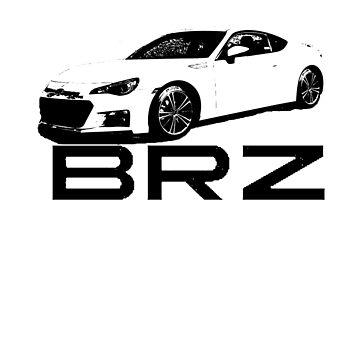 Subaru BRZ - GT86, FRS, BRZ, Street Race, Rear Wheel Drive, Tuner by BlendedFusion