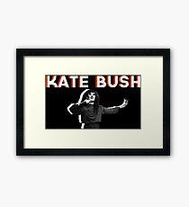 kate bush music Framed Print