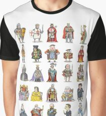 British  Monarchs Graphic T-Shirt