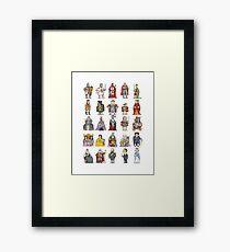 British  Monarchs Framed Print