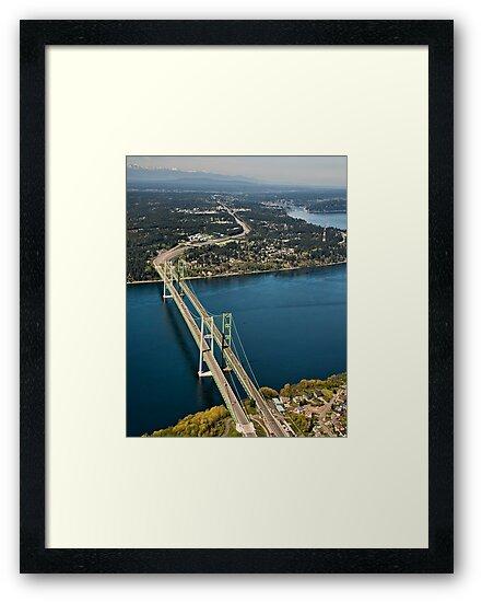 The Narrows Bridges by Bryan Peterson