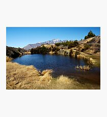 Hilltop Lake Photographic Print
