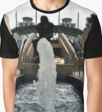 Fountain And Sculpture Graphic T-Shirt