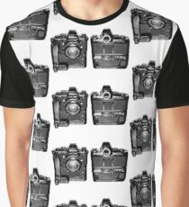 Nikon F3 Front and Back Graphic T-Shirt