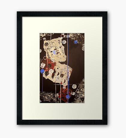 Teeter Framed Print