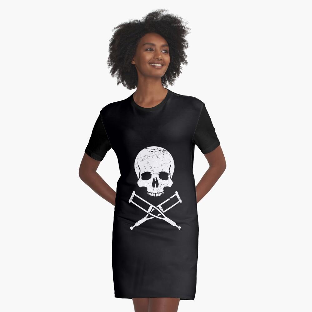 Funny Get Well Gift - Fractura del dedo gordo del pie roto Vestido camiseta
