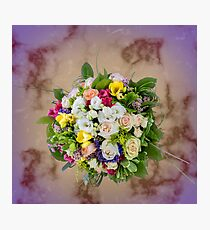 Bunch of beautiful flowers Photographic Print