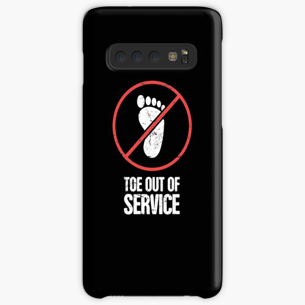 Funny Get Well Gift - Punta rota fracturada Funda y vinilo para Samsung Galaxy