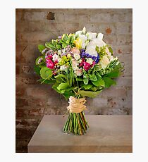 Bright bouquet of flowers Photographic Print