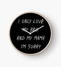 Je n'aime que mon lit et ma maman Je suis désolé Drake Lyrics Plan de Dieu Horloge